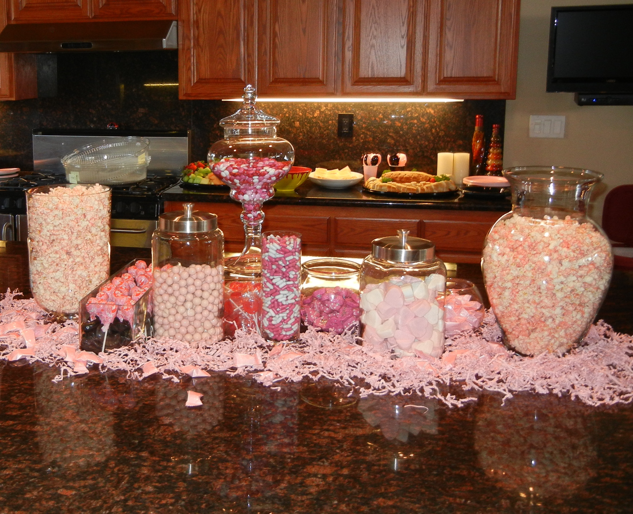 how we made pink popcorn it was a big hit
