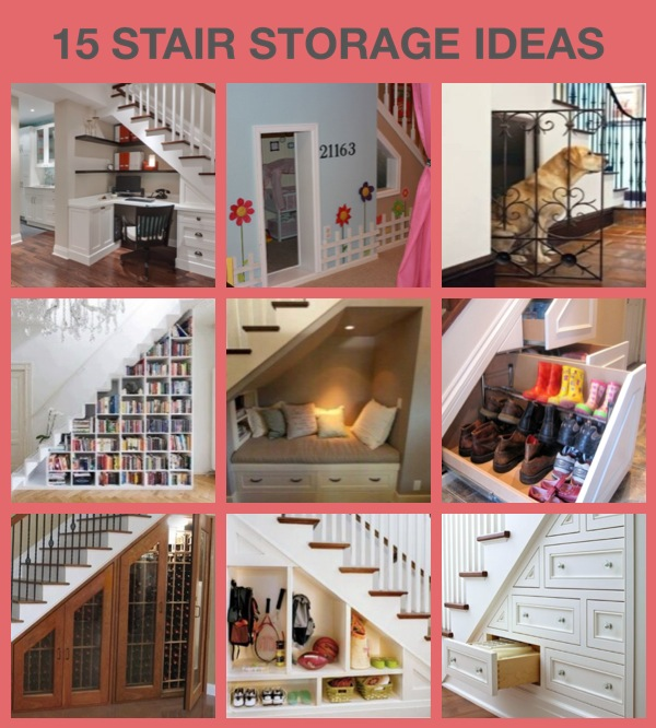 17 Best Ideas About Bar Under Stairs On Pinterest: 15 STORAGE IDEAS UNDER THE STAIRS